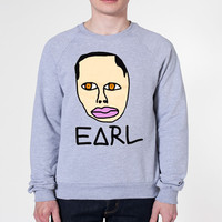 EARL FACE funny music free ofwgkta cool ymcmb wolf gang odd future party hip hop s m l xl 2xl Mens Womens Unisex SWEATSHIRT Gray e0182