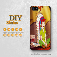 Peter pan, Disney, iPhone 5 case, iPhone 5C Case, iPhone 5S case, iPhone 4S Case, Samsung S3 S4 S5, Note 2 3, Phone Cases, 5A277