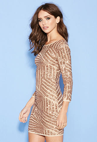 FOREVER 21 Sequined Abstract Pattern from Forever 21 | Forever 21