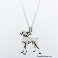 German Shorthaired Pointer Charm Necklace