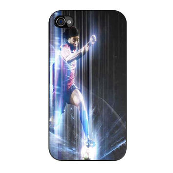 ronaldinho playing for fc barcelona iPhone4 4s 5 5s 5c 6 6s plus cases