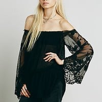 Free People Womens FP X Queen Anne Blouse