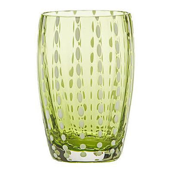 Perle Glassware | Apple Green