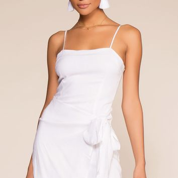 100 Days Of Summer Wrap Dress - White