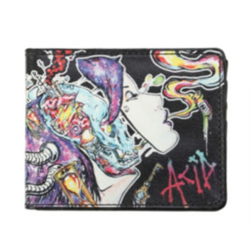 Ghost Town Acid Girl Bi-Fold Wallet