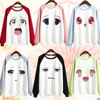 Anime Girl Emoji Jumper SP167972