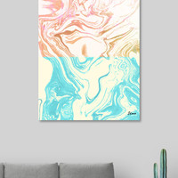 «Paint Duality», Exclusive Edition Aluminum Print by Uma Gokhale - From $59 - Curioos