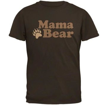 LMFCY8 Mothers Day Mama Bear Mens T Shirt