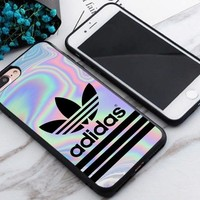 New Adidas.017 Stripe Pastel Best Case For iPhone 6 6s 6+ 6s+ 7 7+ 8 8+ X Cover