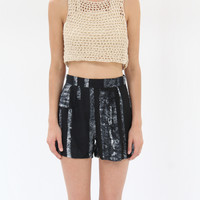 Osei Duro Parva Shorts Black & White Parallel