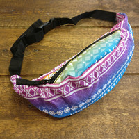 Tribal Rainbow Adventure Fanny Pack