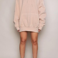 BAZIIC JUST NUDE UNISEX OVERSIZED HOODY - Sweatz - Female HOT!MESS Fashion UK