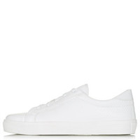 COPENHAGEN Lace-Up Sneakers - White