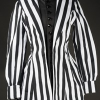 Striped Countess Jacket - Coats And Jackets - Ladies Clothing