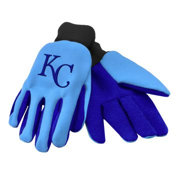 Kansas City Royals - Adult Two-Tone Sport Utility Gloves