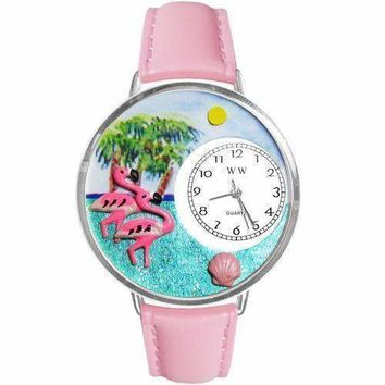 Flamingo Watch in Silver (Large)