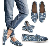 Optometry Pattern Casual Shoes