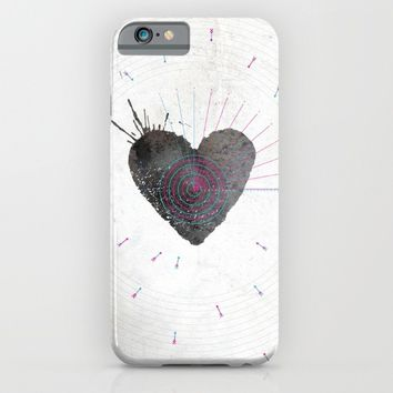 your heart is my target iPhone & iPod Case by Migmig