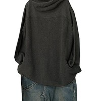 Women's Cotton Sweater Casual Loose Fitting Oversized