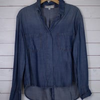 Double Pocket Chambray Shirt