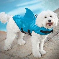 SwimWays 41150-151 Sea Squirts Doggie Jacket, Blue