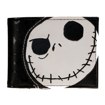 Nightmare Before Christmas Synthetic Leather Wallet - Billfold