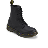 DR. MARTENS WOMEN'S 1460 PASCAL 8-EYE LEATHER BOOTS - BLACK