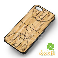 Basketball Court Diagram-1nay for iPhone 4/4S/5/5S/5C/6/ 6+,samsung S3/S4/S5,S6 Regular,S6 edge,samsung note 3/4