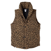 BLACK SENSE x Deluxe 2013 Fall/Winter Leopard Pattern Down Vest