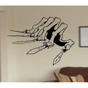 Zombie Hand Clawing Wall Decal Sticker Wall Vinyl Mural the Walking Dead