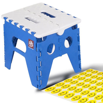 Flyspro High Folding Step Stool for kidstoddlers and Adults. Holds up to 300 ...