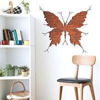 Hot Sale Butterfly Bedroom Living Room Decoration Wall Sticker [9351912458]