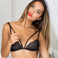 Strappy Lace Lingerie B007584