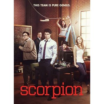Scorpion poster Metal Sign Wall Art 8in x 12in