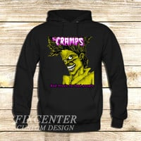 The Cramps Bad Music For Bad People on Hoodie Jacket