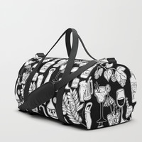 Alcohol Doodles Duffle Bag by Shashira Handmaker