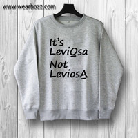 It's LeviOsa Not LeviosA Hermione of Harry Potter Sweatshirt sweater