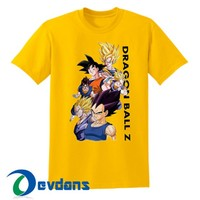 Dragon Ball Z T Shirt Women And Men Size S To 3XL