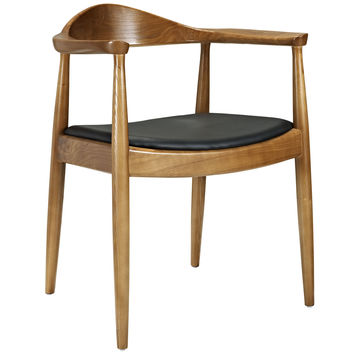 "LexMod Hans Wegner Style ""Presidential Election"" Round Chair"