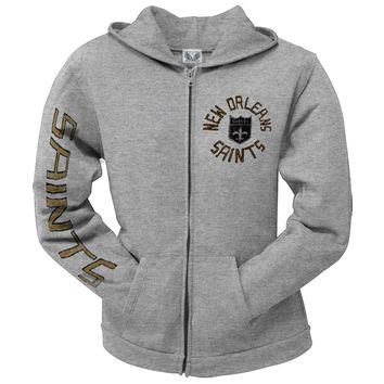 New Orleans Saints - Sunday Juniors Zip Hoodie