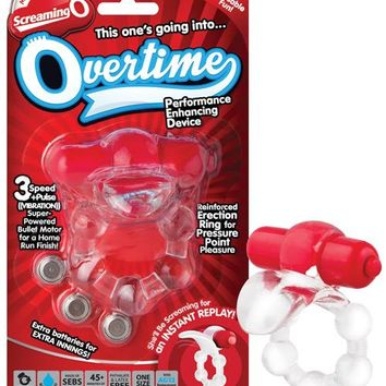 Screaming O The Overtime - Red
