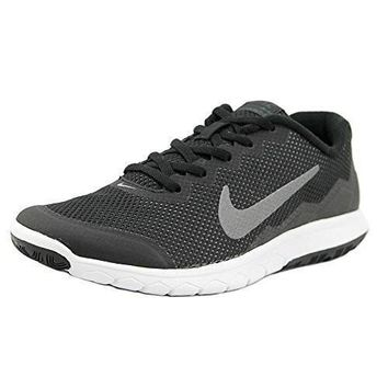 NIKE WOMENS FLEX EXPERIENCE RN 4 BLACK/MTLC DRK GRY/ANTHRACITE/WHITE RUNNING SHOE 9 WO