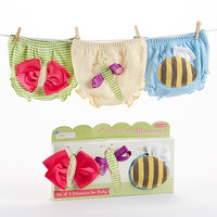 Buzzin' Bloomers Set of 3 Bloomers for Baby