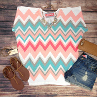 PEACHES AND CREAM TOP – LaRue Chic Boutique