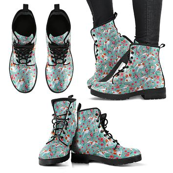 Brittany Flower Boots-Clearance