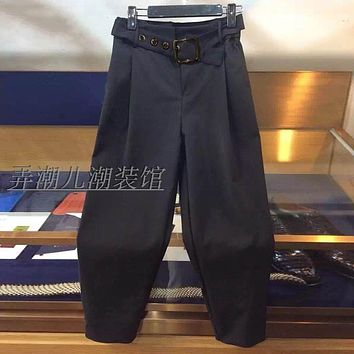 HOT 2016 New Summer casual pants thin high quality loose fashion ankle length trousers men plus size Harem pants costumes