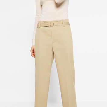 STRAIGHT CUT TROUSERS DETAILS