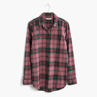 Flannel Classic Ex-Boyfriend Shirt in Nona Plaid : | Madewell