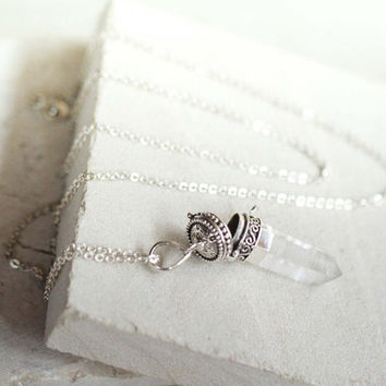 Crystal Locket Necklace