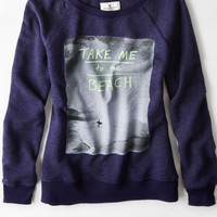 AEO Women's Signature Graphic Sweatshirt